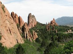 Garden of the Gods: Colorado Springs (Not exactly a 'pin I've tried', but I've now visited here so...)