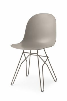 'Academy Chair - Metal Rod Base by Connubia. @2Modern'