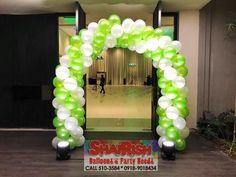 Balloon Arch, Balloons, Js Prom, Company Anniversary, Balloon Decorations, 50th, Celebration, Graduation, Lime