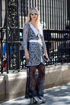 Get Your Street Style Fix Straight From New York Fashion Week Day 6 Kerry Pieri