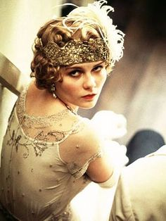 """Kirsten as Marion Davies in """"the Cat's Meow""""."""