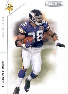 2011 Panini Rookies and Stars Football #82 Adrian Peterson Minnesota Vikings NFL Trading Card by Rookies and Stars. $1.99. 2011 Panini Group trading card in near mint/mint condition, authenticated by Seller