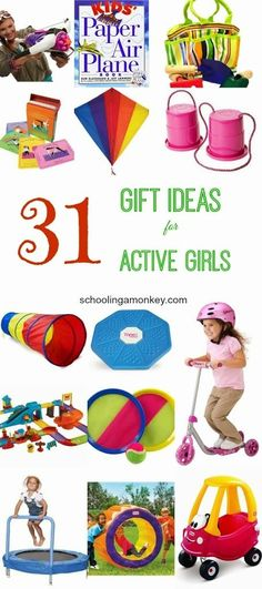Would your daughter rather be outside than at the craft table? Then these gift ideas for active girls are just what you need for Christmas gift ideas! #giftideas #christmas #girlpower