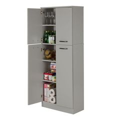 Best Freestanding Pantry In Espresso Kitchen Solutions For 400 x 300