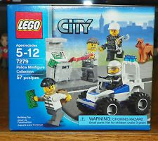 New LEGO CITY 7279 POLICE MINIFIGURE COLLECTION NIB FACTORY SEALED Free Shipping