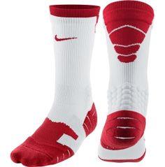 Nike Vapor Crew Football Sock....Red and White