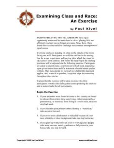 Examining Class and Race: An Exercise