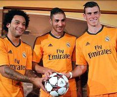 Real Madrid presenta tercer uniforme para la presente temporada
