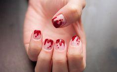 Passo a passo: unhas 'de sangue' para celebrar o Halloween - Unhas - iG