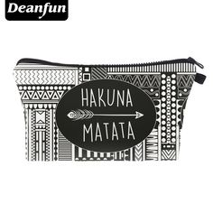 Deanfun Cosmetic Bag 3D Printed Vintage Pattern Fashion Women's Necessary Travel Organizer 2017 Hot Sale 50859