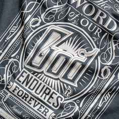 T-shirt Typography by Tomasz Biernat