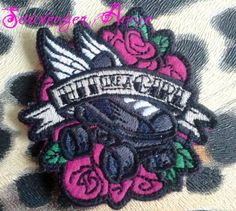 Hey, I found this really awesome Etsy listing at https://www.etsy.com/listing/171254945/roller-derby-hit-like-a-girl-patch