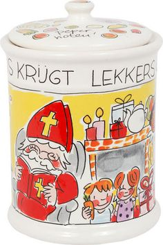 Pepernotenpot Sint van Blond-Amsterdam van Blond-Amsterdam - Blond-Amsterdam officiële website 12 Days Of Christmas, Christmas Is Coming, Kings Day, Blond Amsterdam, Happy We, Style And Grace, Thanksgiving, Seasons, Halloween