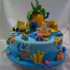 Sponge Bob - was a successful make for Harper's birthday party 2012