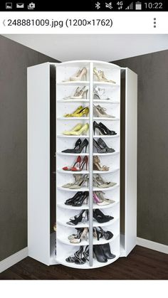 Plateau Tournant Chaussures