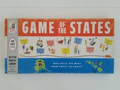 Game of the States by SplendidSundries on Etsy