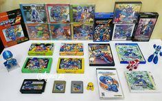 On instagram by aigner85 #retrogames #microhobbit (o) http://ift.tt/1pc8KUi. My Complete RockMan / Megaman Games Collection.  My 2nd account  @assassins.creed.collector  #Capcom #MegaManLegacyCollection #MegaMan #RockMan #Nintendo #NES #Famicom #Games #Gamers #Retro #RetroGames #ClassicGames #UAEGamers #UAE #Like #Repost #GameCube #Wii #NintendoWii #Sony #PlayStation #PlayStation4 #Microsoft #XboxOne #amiibo #RockManCompleteWorks #OnlyForJapan #Collection