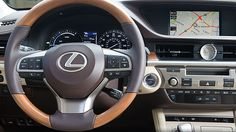 Every aspect of a luxurious driving experience is at your fingertips in the new 2017 #Lexus #ES #Hybrid