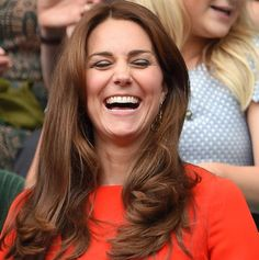 Before: Kate's old hairdo