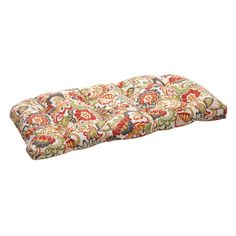 Pillow Perfect Indoor/Outdoor Multicolored Modern Floral Wicker Loveseat Cushion * Details can be found by clicking on the image. Outdoor Loveseat, Outdoor Cushions And Pillows, Diy Pillows, Floor Pillows, Decorative Pillows, Chair Cushions, Gold Wall, Sofa Couch, Wicker Couch