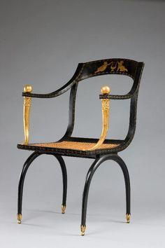 Jean-Joseph Chapuis, Chair, c. 1805. Carnegie Museum of Art, Second Century Acquisition Fund, 1996.8.2