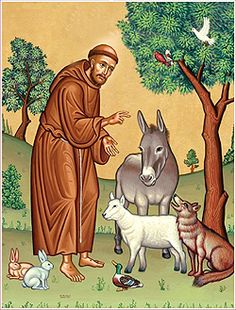 Verhalen voor kinderen: Thema Franciscus van Assisi  Franciscus van Assisi en de wolf
