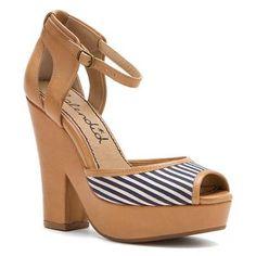 Splendid Davenport - Women's Platform Sandals Tan