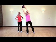 Tone your abs with a wood chop exercise!