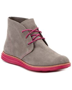 "Spotted this Cole Haan ""LunarGrand Chukka"" Suede Boot on Rue La La. Shop (quickly!).  @JayFreelances"