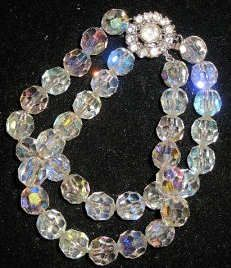 Vintage Bergere Jewelry  I have several of these necklaces.. only single strand