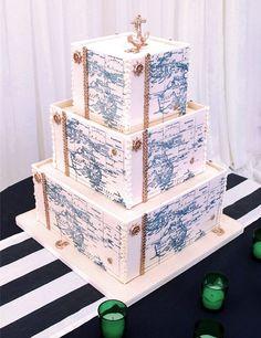 StarLight Custom Cakes Map Cake, Cake Art, Amazing Wedding Cakes, Amazing Cakes, Champagne Wedding Cakes, Boho Cake, Wafer Paper Cake, Baby Shower Cakes For Boys, Square Cakes