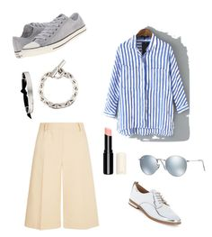 """""""Spring time"""" by ciaci-1 on Polyvore featuring 3.1 Phillip Lim, WithChic, Calvin Klein, Converse, Hermès, Ray-Ban, women's clothing, women's fashion, women and female"""