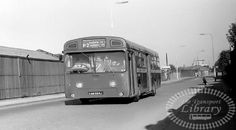 P2 Bus Down Town in Rotherhithe South East London England in 1978