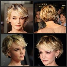 Carey Mulligan pixie cut isnt this the girl from the great gatsby???
