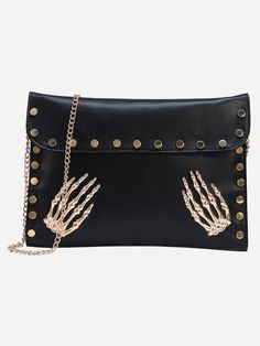 The skeleton hand of bag, the fresh spirit of fashion.