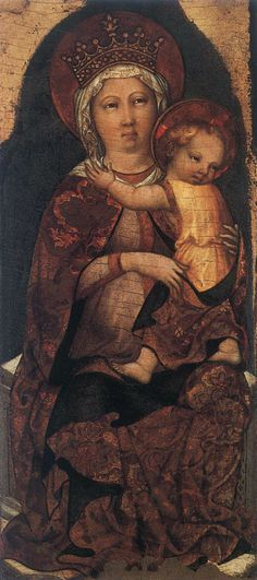 Image detail for -virgin and child 1 by michele giambono 1450