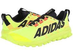 NWT Men's adidas Running Vigor 6 TR Trail Running Shoes YellBlkRd S85032 #SALE #runningshoe
