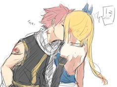 anime, nalu, and boy image
