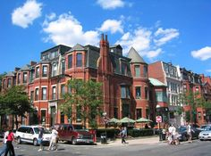 Back Bay in the Boston area on the A-List