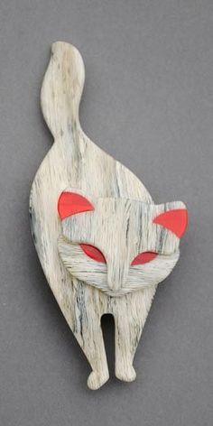 Lea Stein Cats - Atilla & Gomina #06