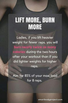 5 Ways to Burn More Calories When You're Training. Simple tweaks to take your workout from a slow burn to a raging furnace . 5 Ways to Burn More Calories When You're Training. Simple tweaks to take your workout from a slow burn to a raging furnace . Fitness Before After, Fitness Workouts, Fitness Goals, Yoga Fitness, Fitness Planner, Gewichtsverlust Motivation, Weight Loss Motivation, Weight Lifting Quotes, Women Fitness Motivation