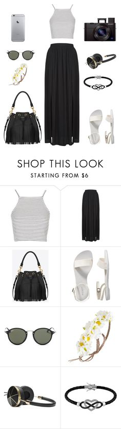 """Chocella 2015"" by esthervyi ❤ liked on Polyvore featuring Topshop, Yves Saint Laurent, Old Navy, Ray-Ban, Forever 21, Frends and Jewel Exclusive"