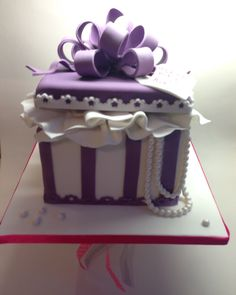 Gift box cake                                                                                                                                                                                 More