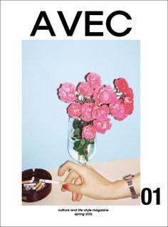 #Avec #magazine #cover