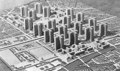 plan voisin, Le Corbusier