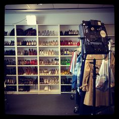Add this wall to my dream closet!