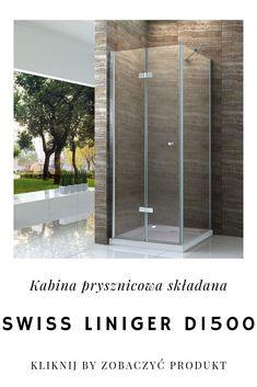 Mała łazienka już nie przeszkodzi Ci w stworzeniu wygodnej i stylowej przestrzeni prysznicowej. Wybierając kabinę D1500 o składanych drzwiach zaoszczędzisz miejsce, nie rezygnując z komfortu przestronnnego prysznica. Kliknij zdjęcie aby przejść do produktu.  #domarket #swissliniger #nowoczesnalazienka #wyposazenielazienki #lazienkamarzen #lazienkoweinspiracje #kabinaprysznicowa #kabiny #bathroom #modernbathroom #bathroomdesign #bathroominspiration #interiordesign #bathroomshower… Bathtub, Bathroom, Furniture, Home Decor, Standing Bath, Washroom, Bath Tub, Decoration Home, Room Decor