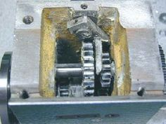 Headstock gears_y. Metal Projects, Garage Workshop, Lathe, Door Handles, Milling, Mini, Turning, Tools, Door Knobs