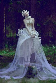 ♥ Romance of the Maiden ♥ couture gowns worthy of a fairytale - lavender dream