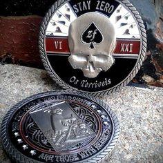 """""""Terrible Ones"""" Challenge Coin – ZERO FOXTROT"""